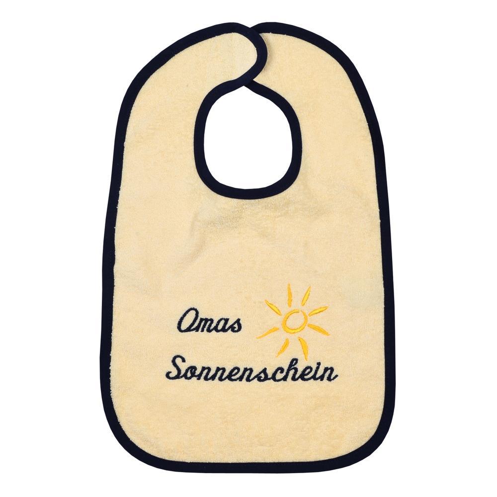 WÖRNER Südfrottier Klettlätzchen Sonnenschein Oma