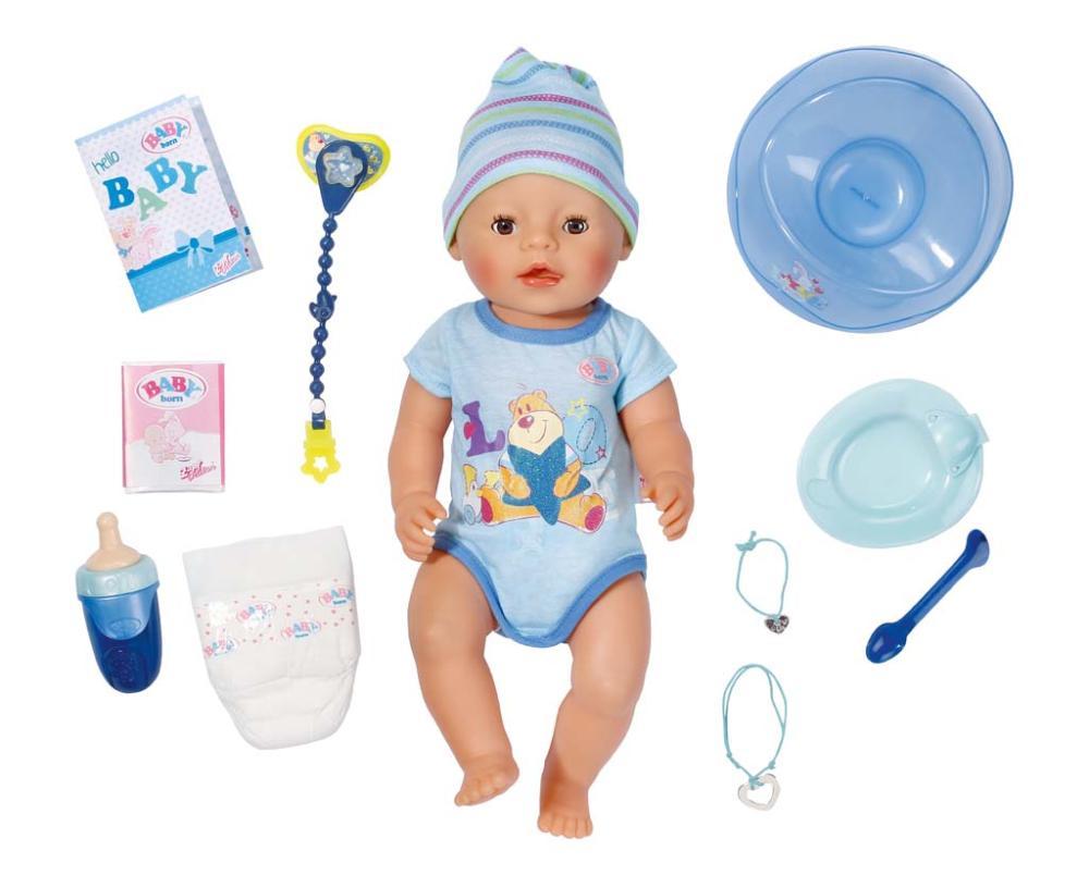 BABY born Interactive Junge