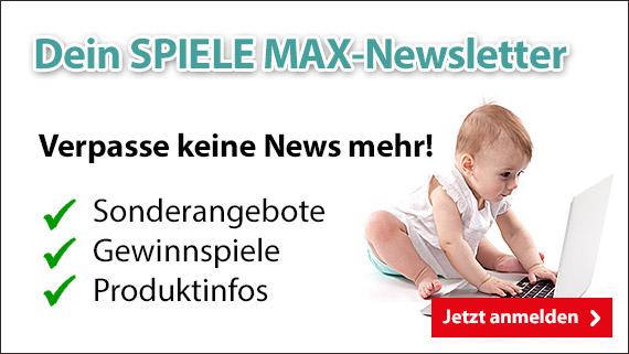 SPIELE MAX-Newsletter