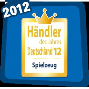 Händler des jahres 2012 - Spielzeug