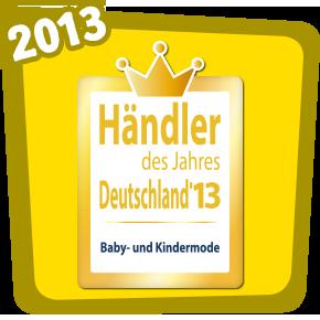 Händler des jahres 2013 - Baby und Kindermode