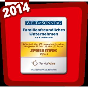 Familienfreundliches Unternehmen 2014