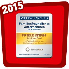 Familienfreundliches Unternehmen 2015