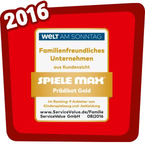 Familienfreundliches Unternehmen 2016