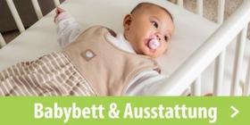 Babybett & Ausstattung