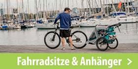 Fahrradsitze & Anhänger