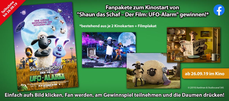 Gewinnspiel Shaun das Schaf