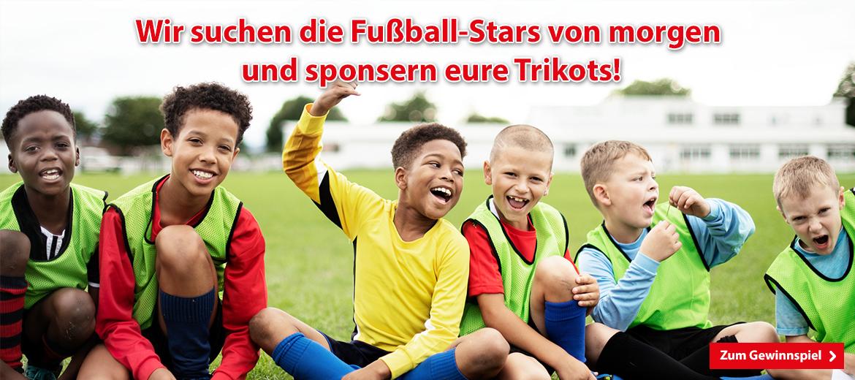 Gewinnspiel Fussballtrikots