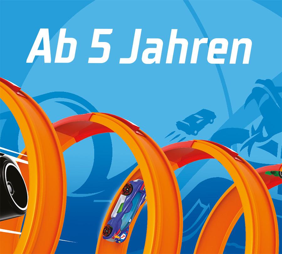 Hot Wheels - Ab 5 Jahren