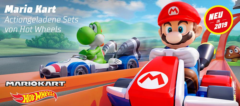 Hot Wheels Mario Kart