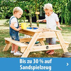 Sandspielzeug und Sandkästen