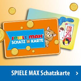 SPIELE MAX Schatzkarte