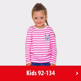 Mode für Mädchen Größe 92 - 134