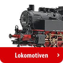 Modelleisenbahn - Lokomotiven