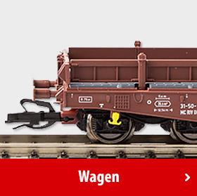 Modelleisenbahn - Wagen