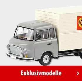 Modelleisenbahn - Exklusivmodelle