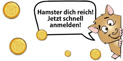 SPIELE MAX Schatzkarte Hamster