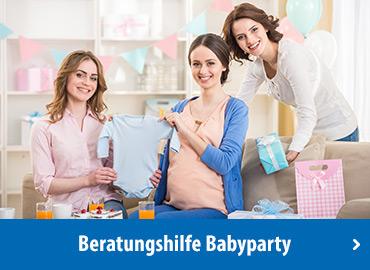 Beratungshilfe Babyparty