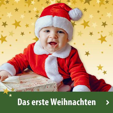 Das erste Weihnachten (bis 12 Monate)
