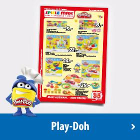 Play Doh Plakat