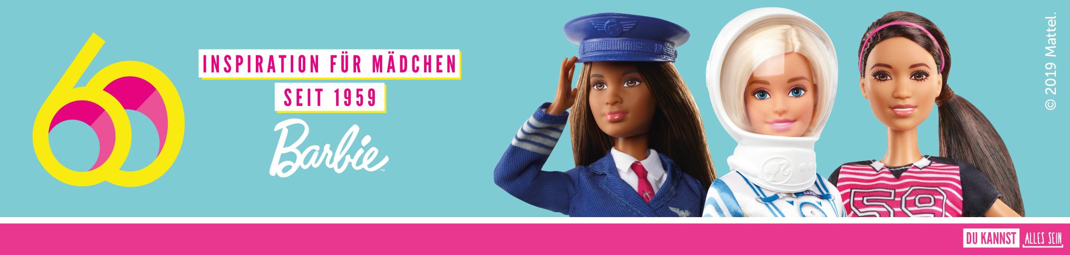Barbie - 60 Jahren