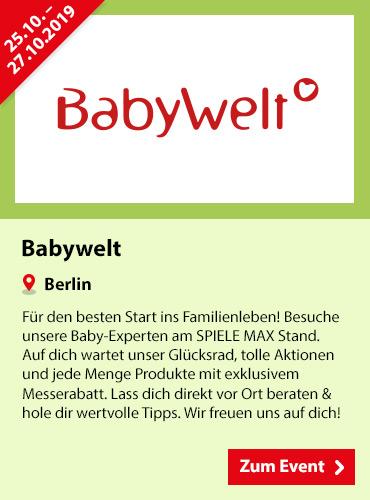 SPIELE MAX Eventkalender - Babywelt
