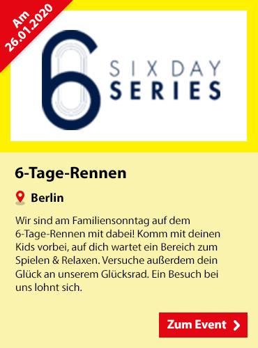 SPIELE MAX Eventkalender - 6-Tage-Rennen