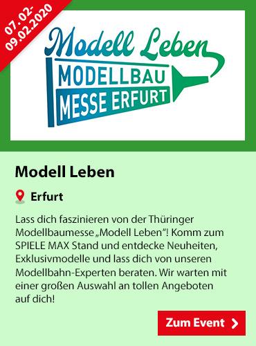 SPIELE MAX Eventkalender - Modell Leben Erfurt