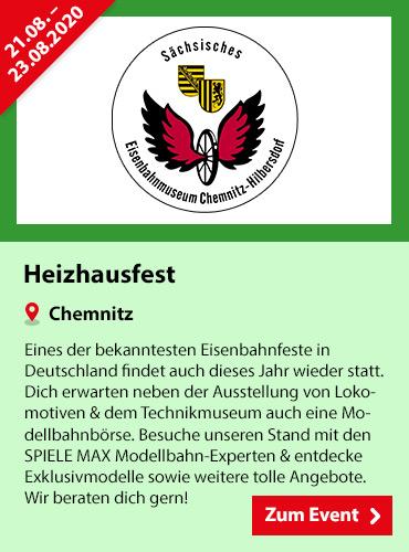SPIELE MAX Eventkalender - Heizhausfest Chemnitz