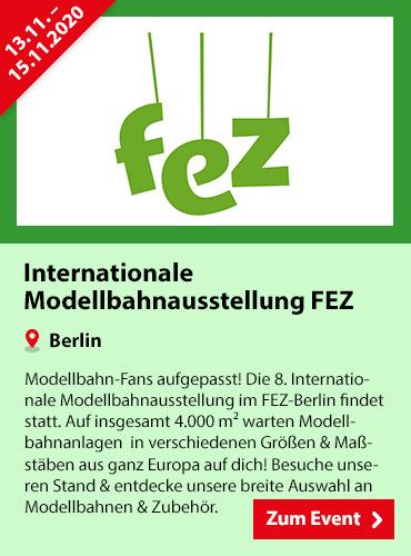 SPIELE MAX Eventkalender - Internationale Modellbahnausstellung FEZ