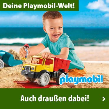 PLAYMOBIL - Auch draußen dabei!