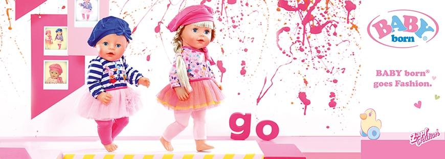 Baby Born goes Fashion