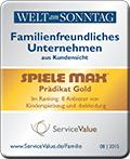Auszeichnung Familienfreundliches Unternehmen