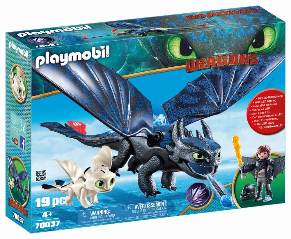 Playmobil 70037 Ohnezahn Und Hicks Spielset