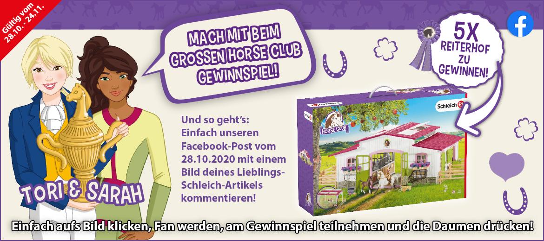 Gewinnspiel Schleich Horse Club