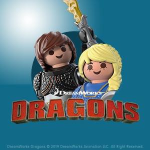 PLAYMOBIL dreamworks Dragons