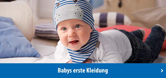 Babys erste Kleidung