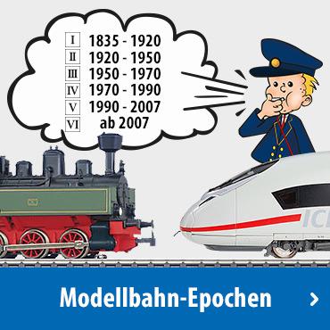 Modellbahn-Epochen