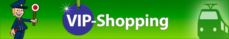Modellbahn VIP-Shopping