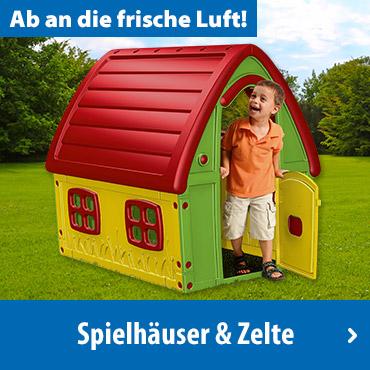 Spielhäuser & Zelte