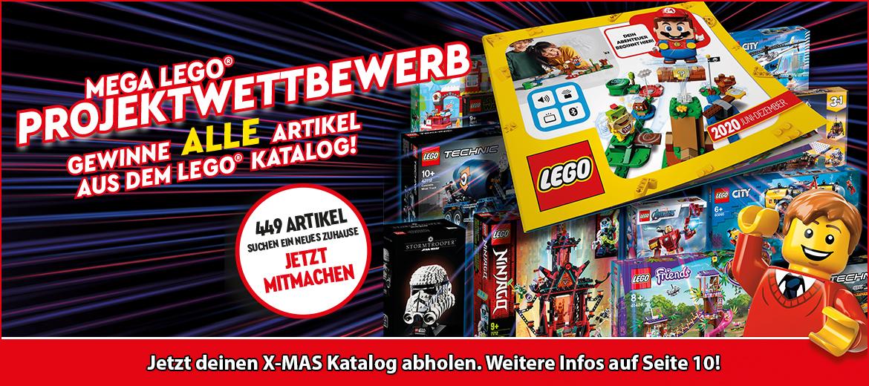 X-MAS Katalog-Gewinnspiel